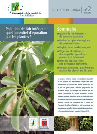 Le potentiel d'épuration par les plantes