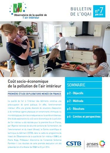 Coût socio-économique de la pollution de l'air intérieur