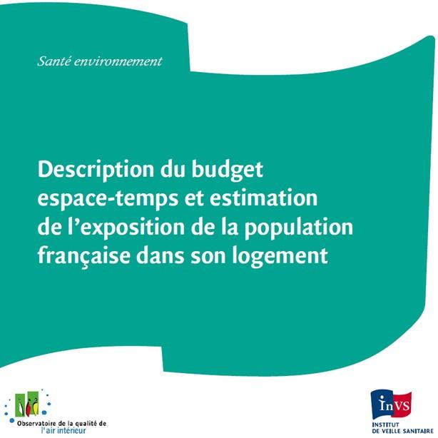 Description du BET et estimation de l exposition de la population française dans son logement