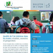 Qualité de l'air intérieur dans les écoles : résultats, avancées et perspectives