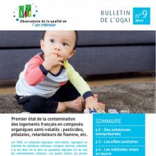 Premier état de la contamination des logements français en composés organiques semi-volatils : pesticides, phtalates, retardateurs de flamme, etc.
