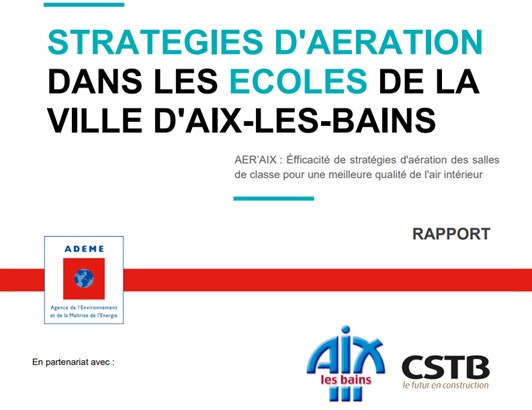 AER'AIX : Stratégies d'aération dans les écoles de la Ville d'Aix-les-Bains