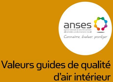 Valeurs guides de qualité de l'air intérieur (VGAI)